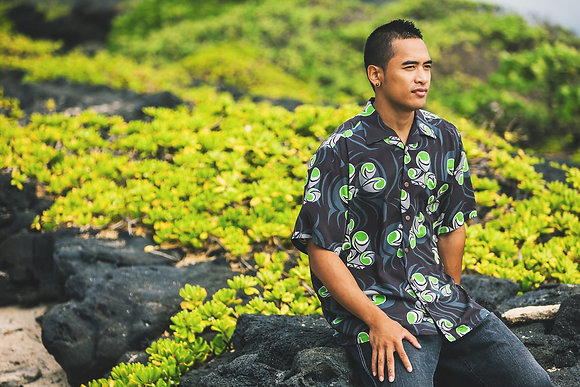 Men's Aloha Shirt L