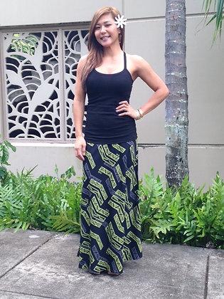 Moani Bias Maxi Skirt L