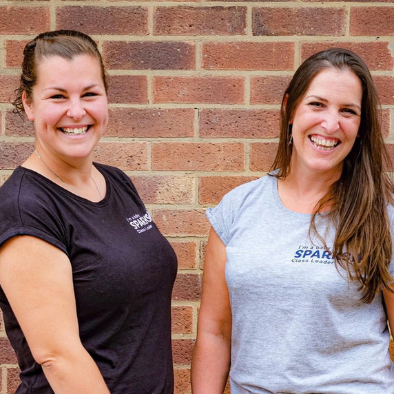 Helen & Kat, co-owners of Baby Sparks Sensory