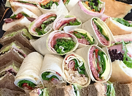 Assorted Rolls and Wraps