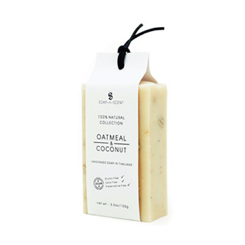 Soap-n-Scent Grain Collection Oatmeal & Coconut Soap