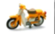 新聞配達バイク