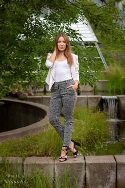 Justyna - sesja w ogrodach BUW (7)
