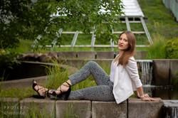 Justyna - sesja w ogrodach BUW (9)