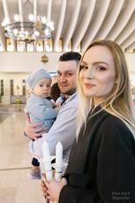 Chrzest w Parafii św. Maksymiliana Marii Kolbego w Warszawie 1