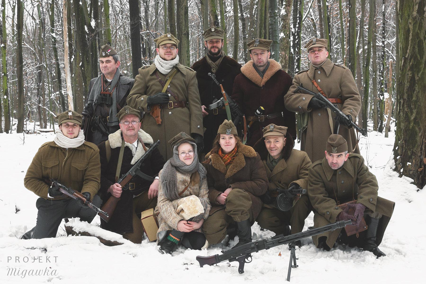 Sesja zdjęciowa Żołnierze Wyklęci (59)
