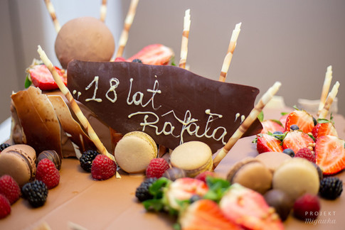 18-te urodziny Rafała w Hotelu Regent w Warszawie