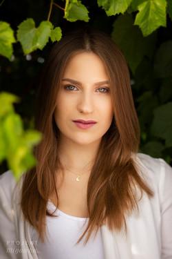 Justyna - sesja w ogrodach BUW (2)