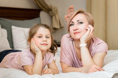 Sesja zdjęciowa dla mamy i córki 3