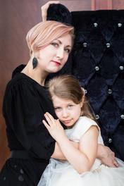 Sesja zdjęciowa dla mamy i córki 2
