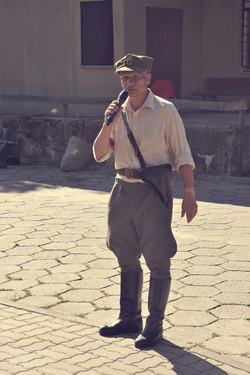 Inscenizacja  Powstanie Warszawskie 1944