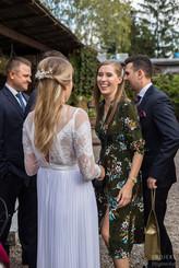 Ania i Konrad - przyjęcie ślubne w Łomiankach 2