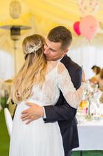 Ania i Konrad - przyjęcie ślubne w Łomiankach 9