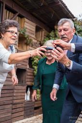 Ania i Konrad - przyjęcie ślubne w Łomiankach 13