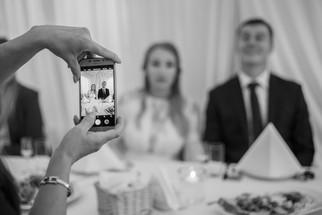 Ania i Konrad - przyjęcie ślubne w Łomiankach 6