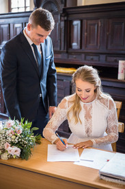 Ania i Konrad - Ślub w Lesie Bielańskim 1
