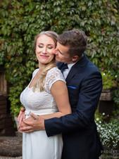 Ania i Konrad - przyjęcie ślubne w Łomiankach 11