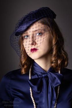 Portret retro Kasia 9