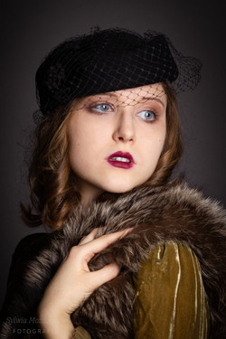 Portret retro Kasia 7