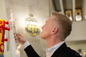 Chrzest w Parafii św. Maksymiliana Marii Kolbego w Warszawie 7