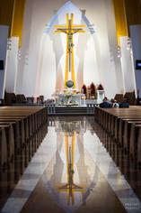 Chrzest kościół św. Ojca Pio Warszawa (1