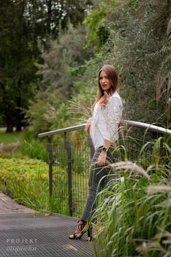 Justyna - sesja w ogrodach BUW (16)