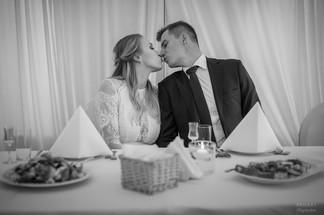 Ania i Konrad - przyjęcie ślubne w Łomiankach 7