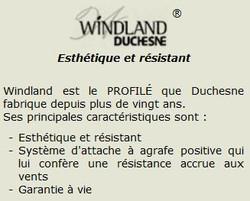 Vinyle Windland DUCHESNE