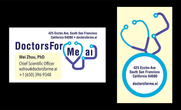 Doctors for Me Business Card