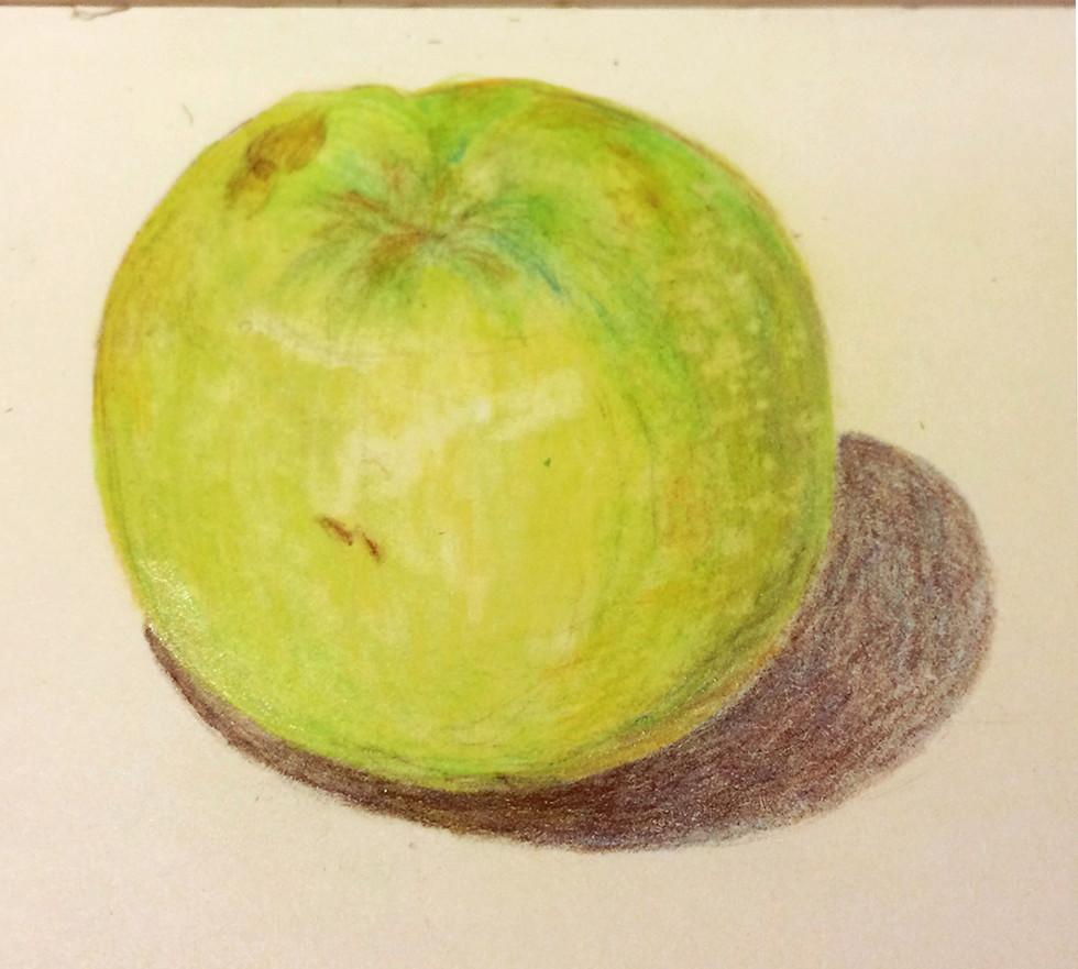 green hotel-room apple