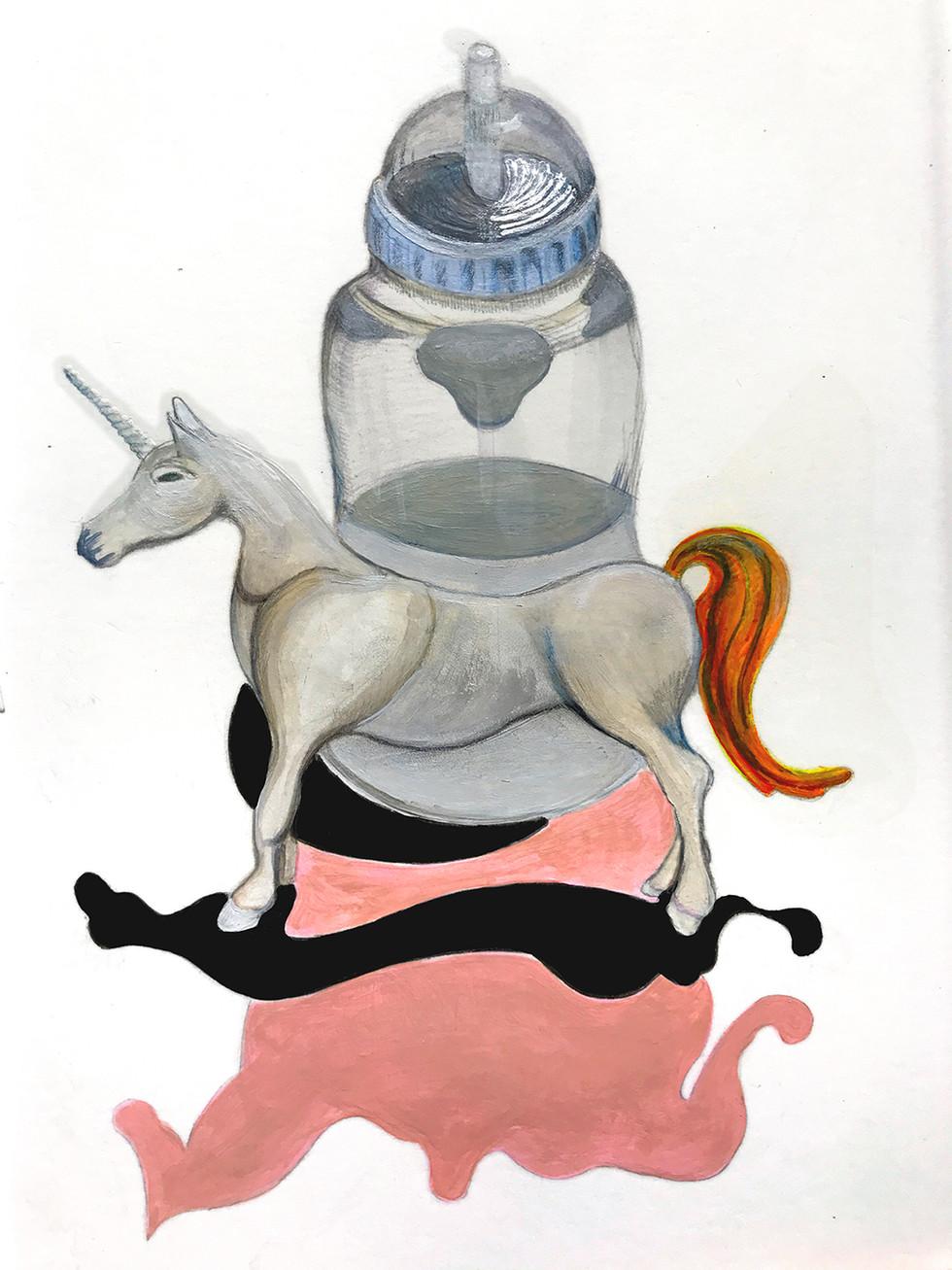 unicorn's bottle