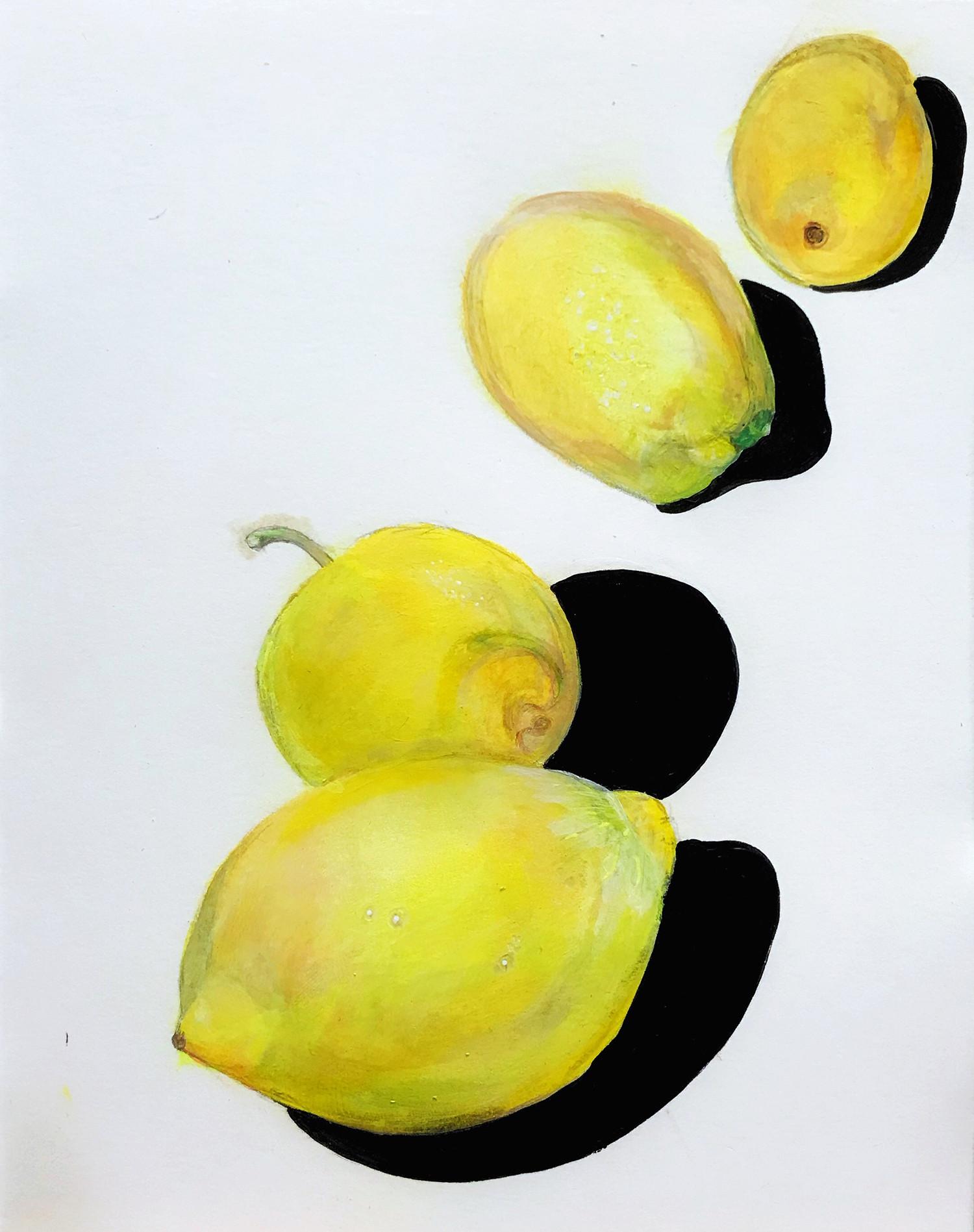 lemons in a line