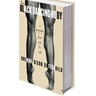 black dancing body