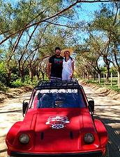 Passeio de buggy em Arraial do Cabo