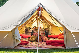 4m Bell Tent Hire