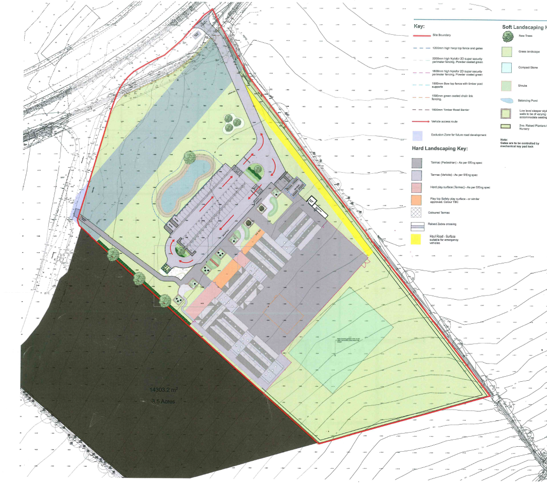 William Morris Site Plan