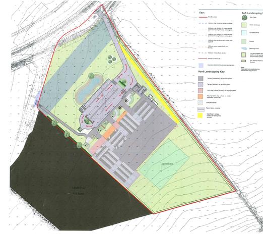 William Morris Site Plan