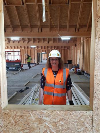 Mrs Dixon in her office!