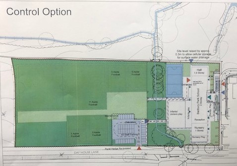 Badbury Park Primary School - Site Plan