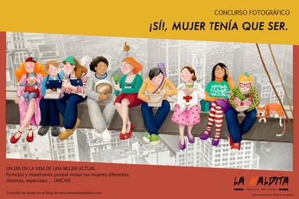 I Edición Concurso Fotográfico: ¡SI!, MUJER TENÍA QUE SER.