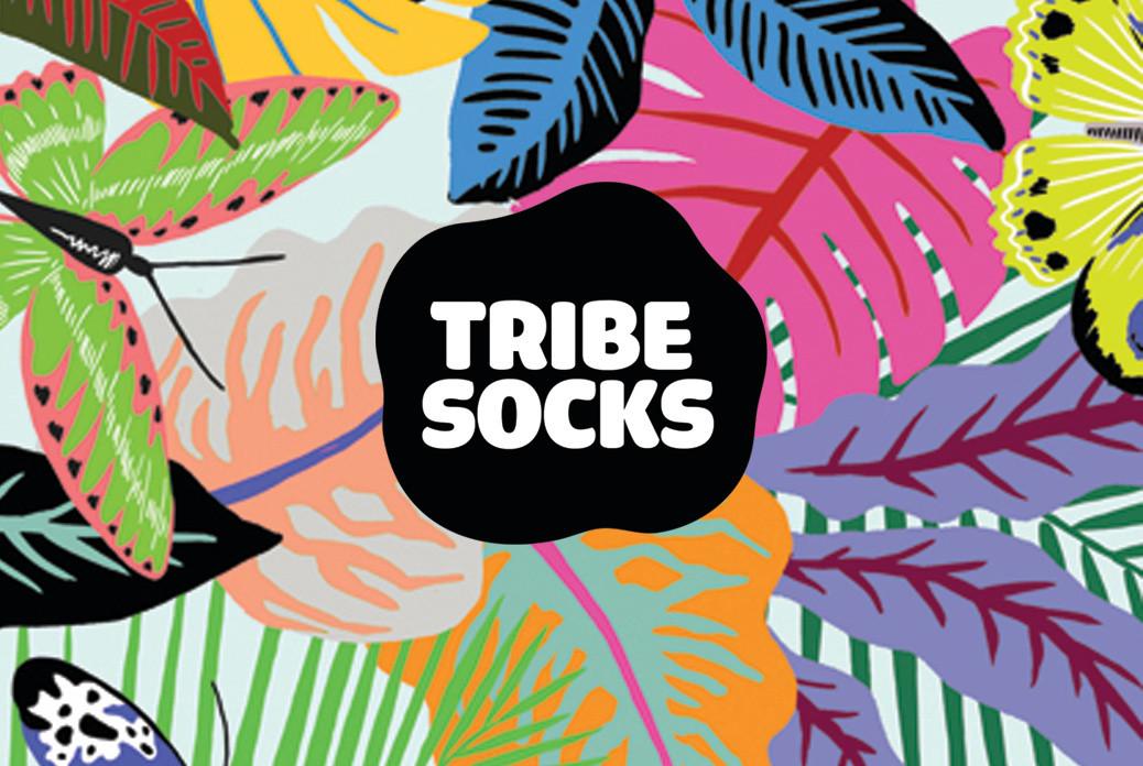 tribe socks logo
