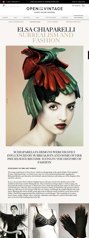 Vintage fashion blog