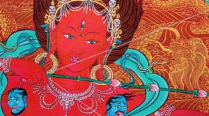 Buddhist Goddess - Kurukulle