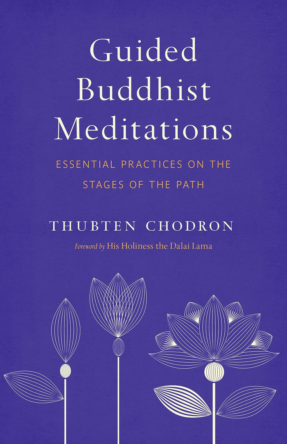 Guided Buddhist Meditations. Essential Practices on the Stages of the Path by Thubten Chodron