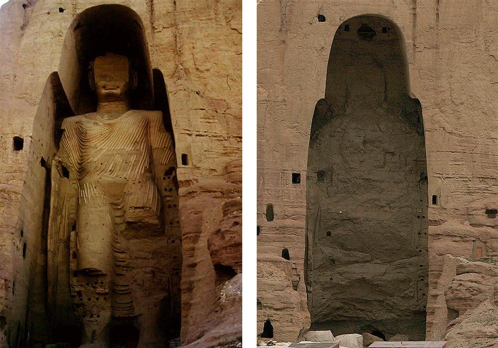 The Buddhas of Bamiyan, Afghanistan