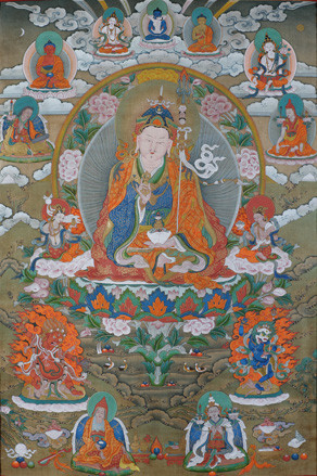 First Manifestation of Guru Rinpoche Guru Padmasabhava