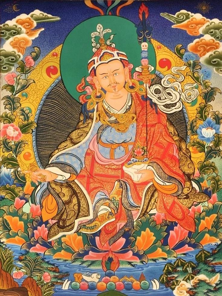 Fourth Manifestation of Guru Padmansabhava Guru Rinpoche