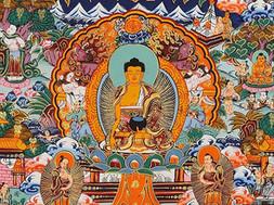 Tibetan Buddhist Thangka painting