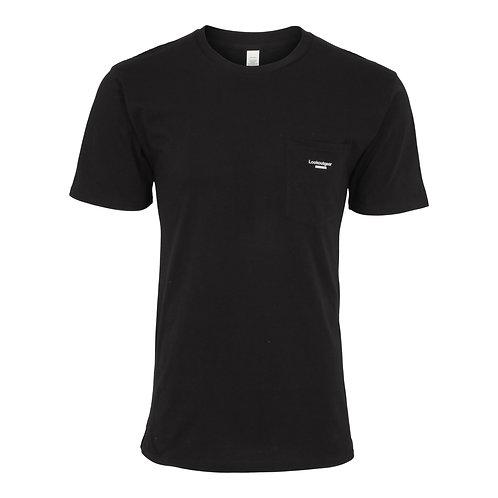 Lookoutgear Est Pocket Crew T-Shirt - Black