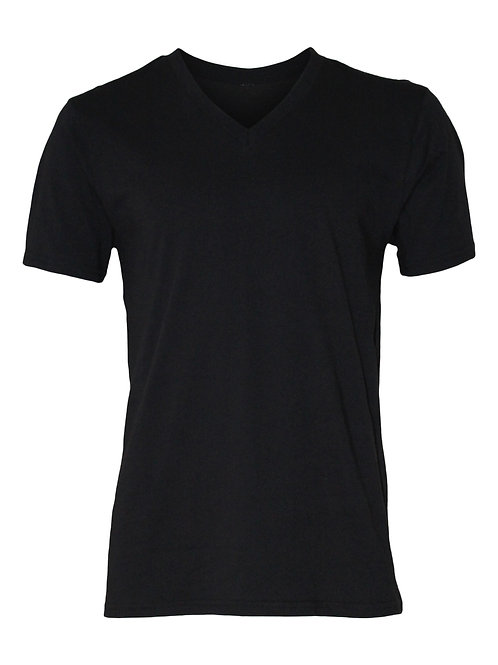 Lookoutgear Short Sleeve V-Neck T-Shirt - Black